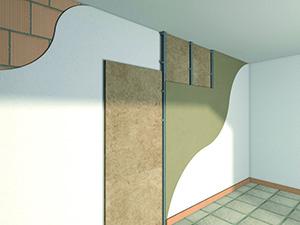 Coibentazione termica tramite cappotto esterno e interno - Cappotto interno casa ...