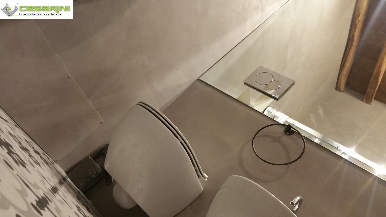 Lavandino per lavanderia con mobile porta lavasciuga