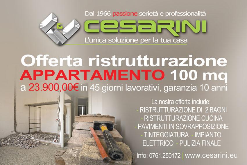 Offerta ristrutturazione appartamento